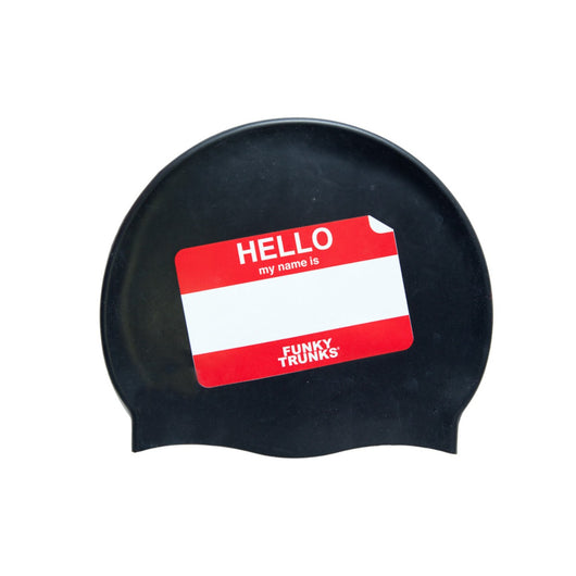 MY NAME IS | SILICONE SWIMMING CAPS