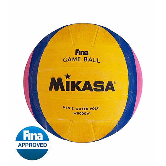 MIKASA® OFFICIAL FINA WATER POLO BALL | MEN'S SIZE 5 (W6000W)