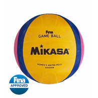 MIKASA® OFFICIAL FINA WATER POLO BALL | WOMEN'S/COMPACT SIZE 4  (W6009W)