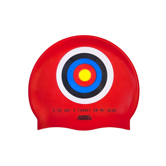 TARGET HEAD | SILICONE SWIMMING CAPS