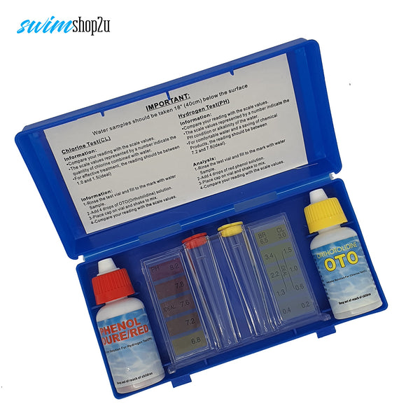 Basic PH & CL Test Kit for Swimming Pool