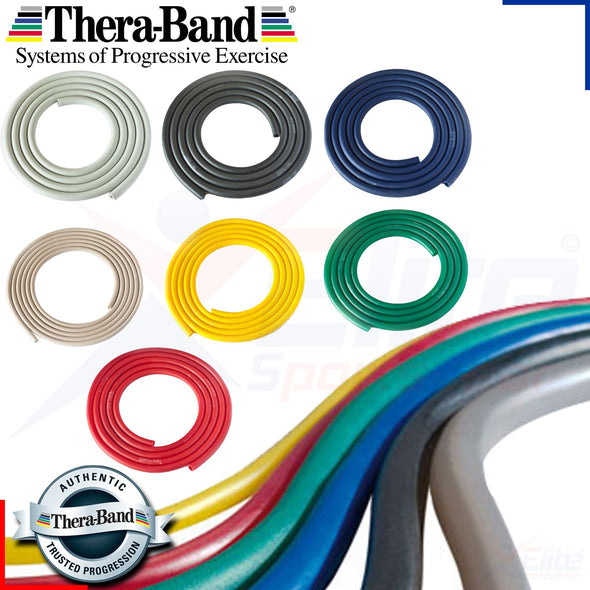 THERABAND PROFESSIONAL LATEX RESISTANCE TUBING, 100 FT. | BLACK (Special Heavy)