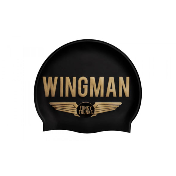 Wingman | Silicone Swimming Caps