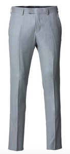 "Cavaliere Bukser LIGHT GREY ""Paul"" - Slim Fit"