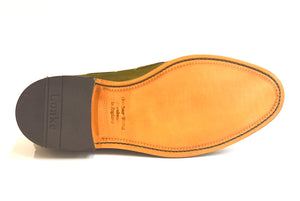 Loake - Lincoln OS Shoemakers tassel loafer Grøn