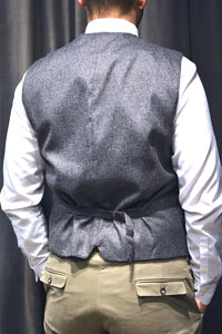 "Vest ""FRESCO"" - Dark Brown"