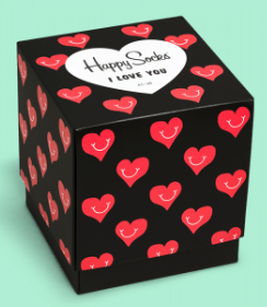 Happy Socks VALENTINE BOX 3-pack
