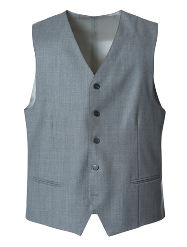 Cavaliere Vest LIGHT GREY -