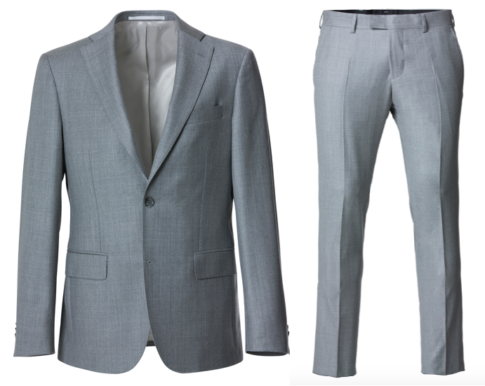 Cavaliere Suit LIGHT GREY