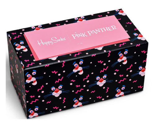 Happy Socks - PINK PANTHER 6-BOX
