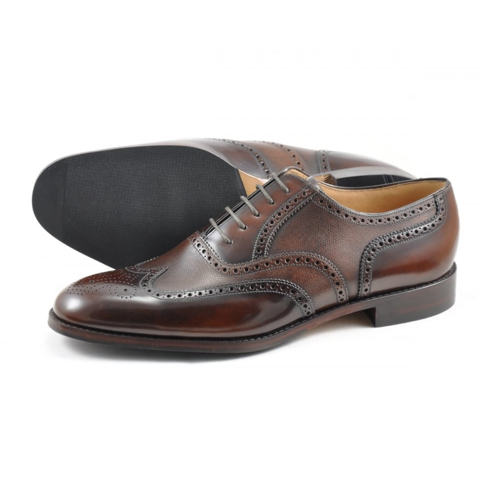 Loake - Lowick Brouge Brown Two-Tone