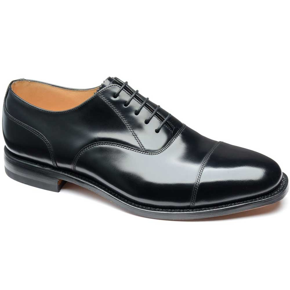 Loake - 200B Black m. Captoe