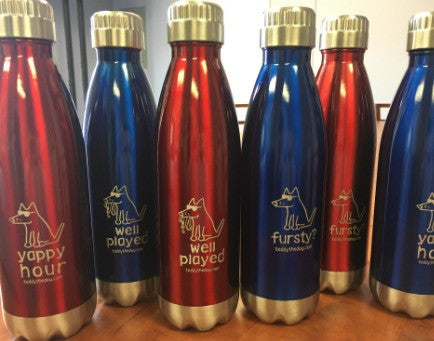 Teddy the Dog Water Bottles