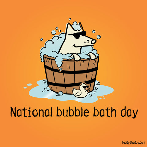 nat'l bubble bath day