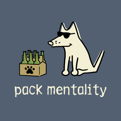 Pack Mentality Teddy the Dog