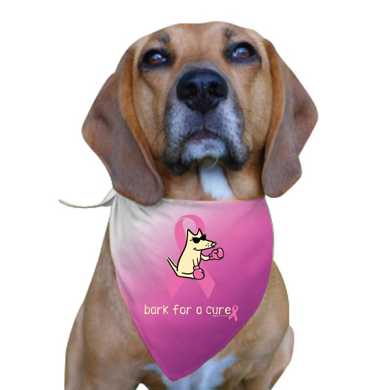 Bark For A Cure - Doggie Bandana