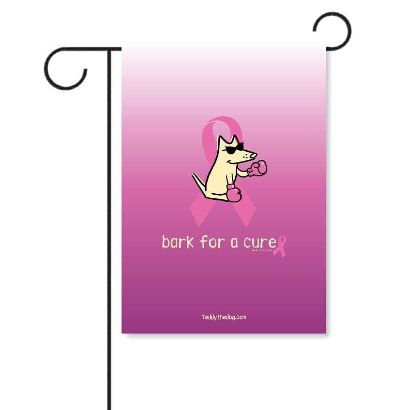 Bark For A Cure - Garden Flag