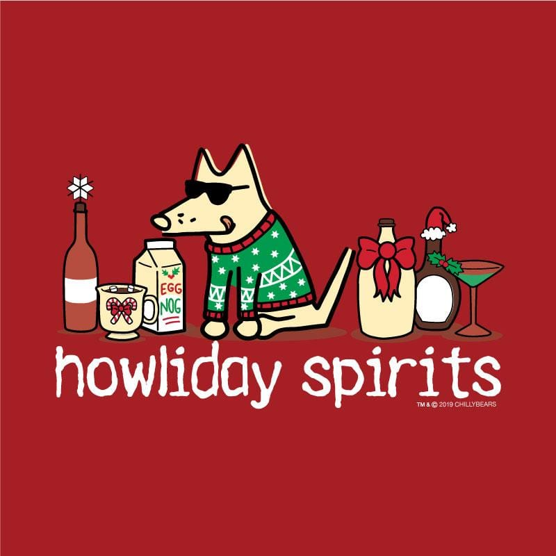 Howliday Spirits - Ladies Long-Sleeve T-Shirt