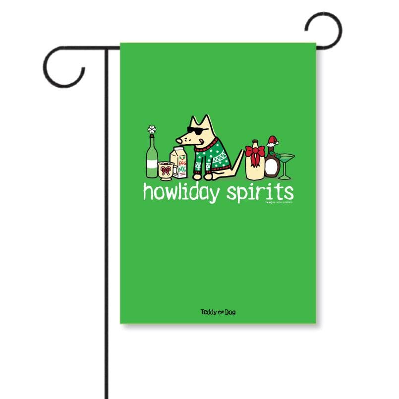 Howliday Spirits - Garden Flag
