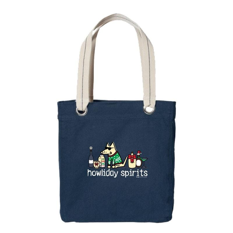 Howliday Spirits - Canvas Tote