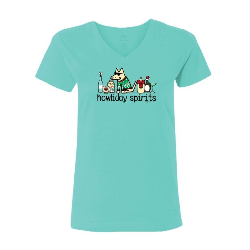 Howliday Spirits - Ladies T-Shirt V-Neck