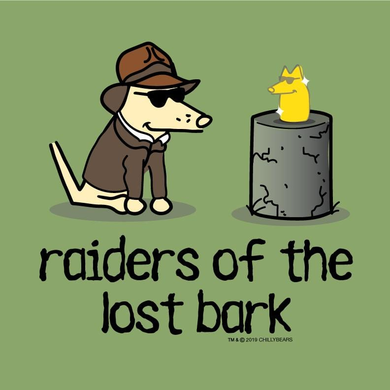 Raiders Of The Lost Bark - Lightweight Tee
