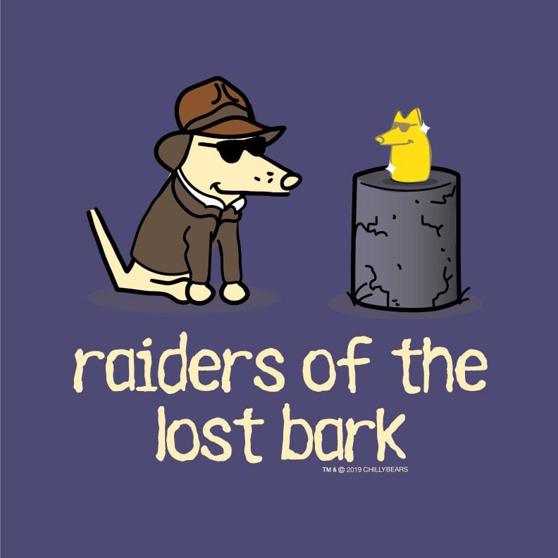 Raiders Of The Lost Bark - Ladies T-Shirt V-Neck