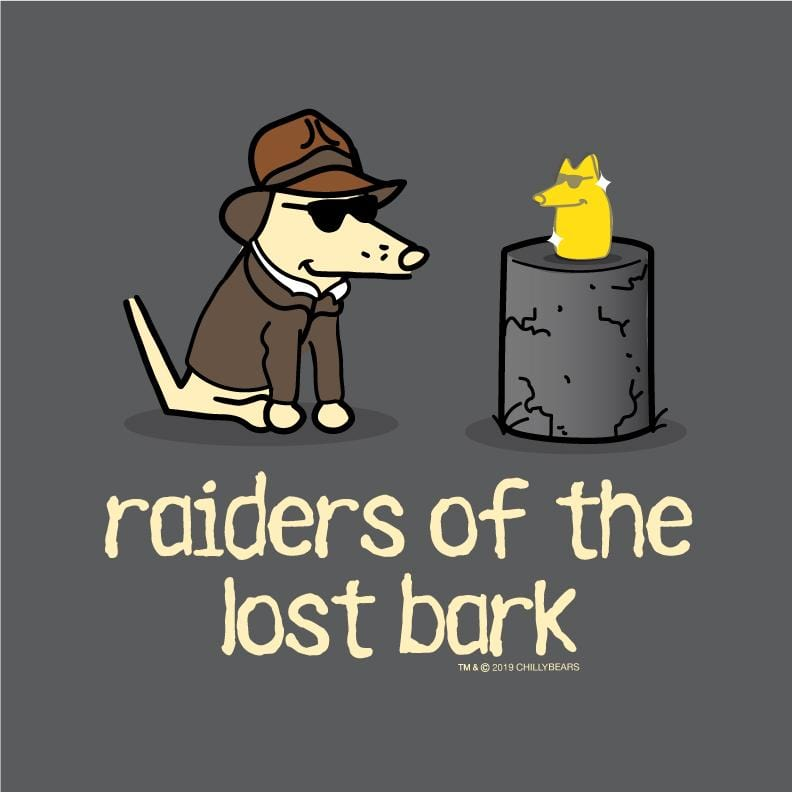 Raiders Of The Lost Bark - Ladies Long-Sleeve T-Shirt