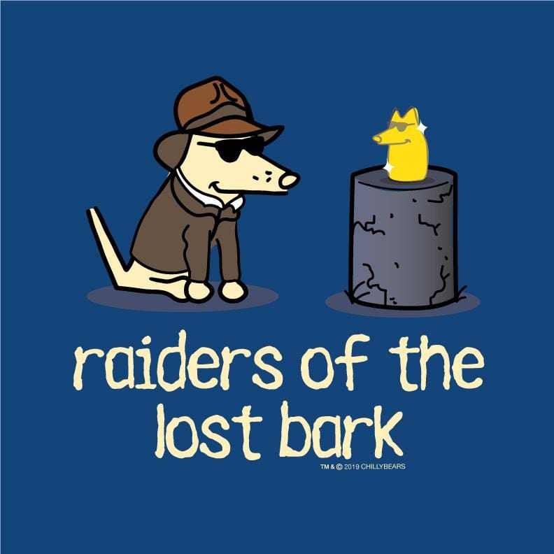 Raiders Of The Lost Bark  - Ladies Curvy V-Neck Tee