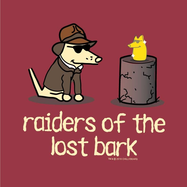 Raiders Of The Lost Bark - Long-Sleeve T-Shirt Classic