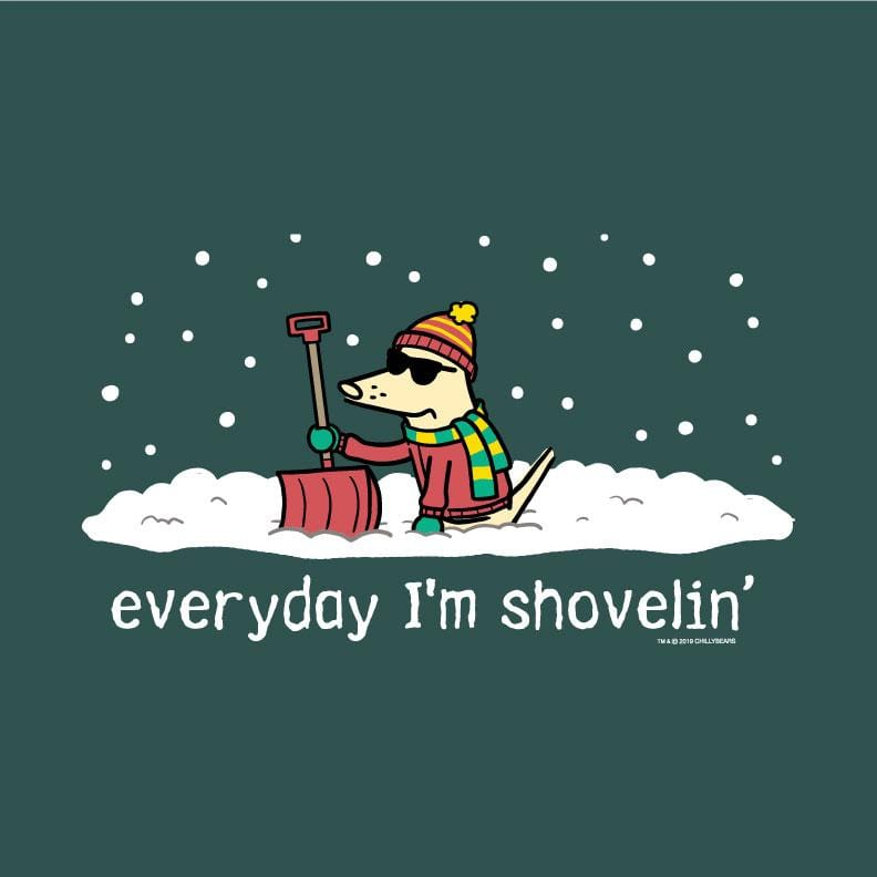 Everyday I'm Shovelin - Classic Long-Sleeve T-Shirt