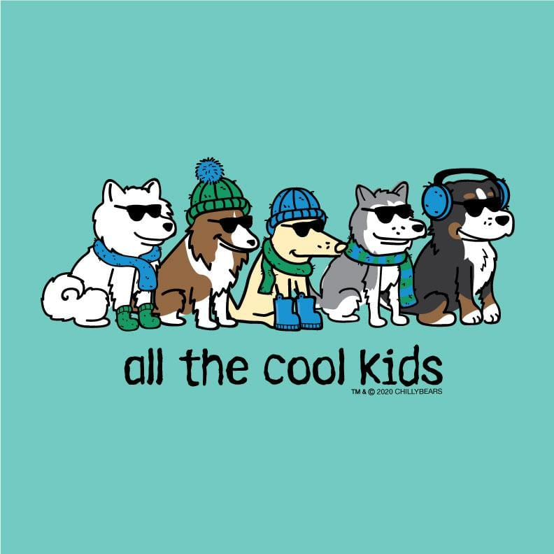 All The Cool Kids - Ladies T-Shirt V-Neck