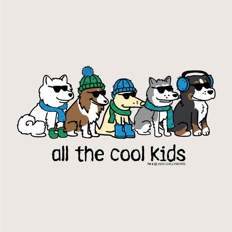 All The Cool Kids - Ladies Long-Sleeve T-Shirt