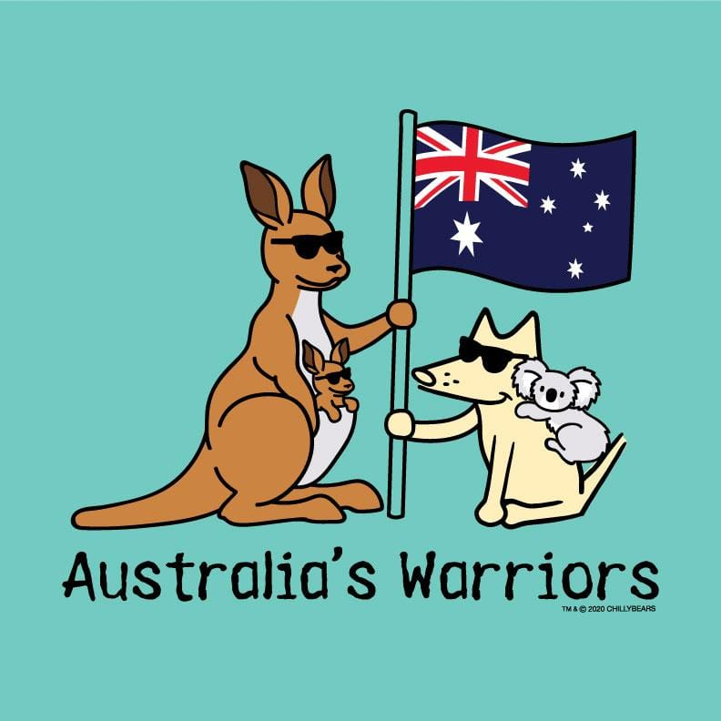 Australia's Warriors - Ladies T-Shirt V-Neck