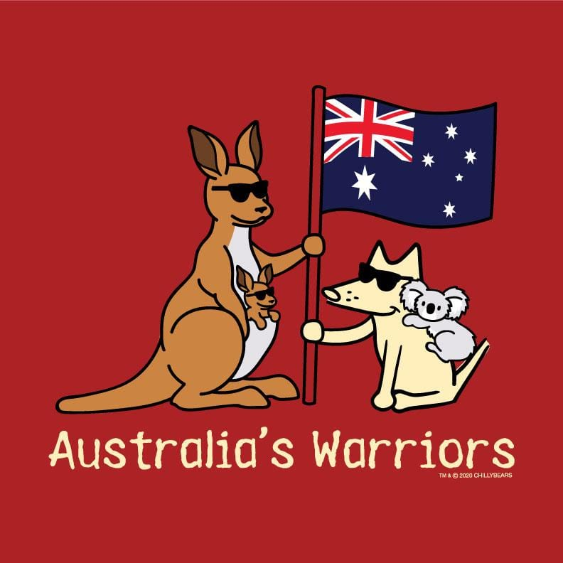 Australia's Warriors - Ladies T-Shirt Crew Neck
