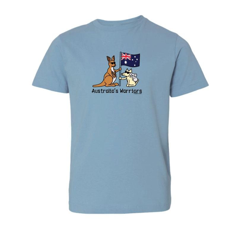 Australia's Warriors - T-Shirt - Kids