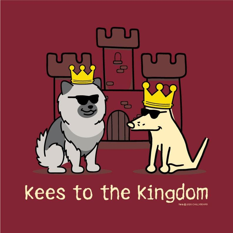 Kees To The Kingdom - Ladies T-Shirt V-Neck