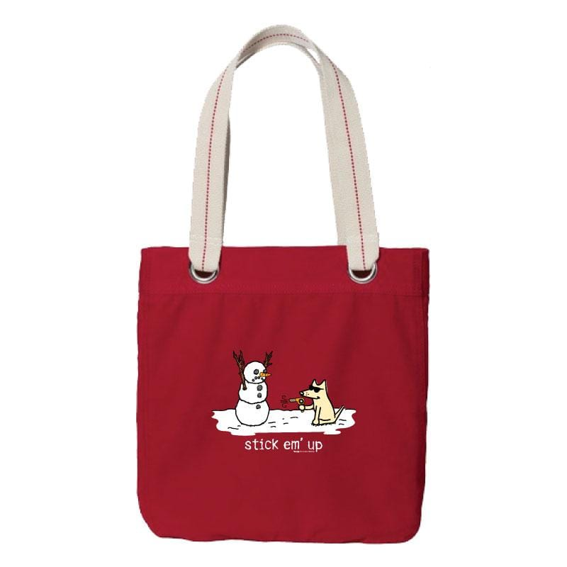 Stick Em' Up - Canvas Tote