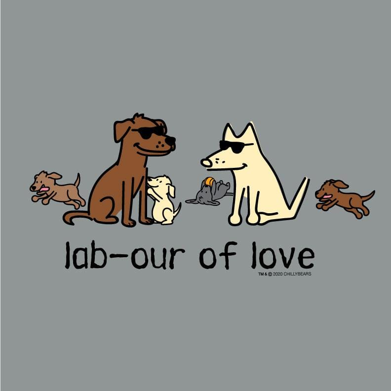 Lab-our Of Love - Sweatshirt Pullover Hoodie