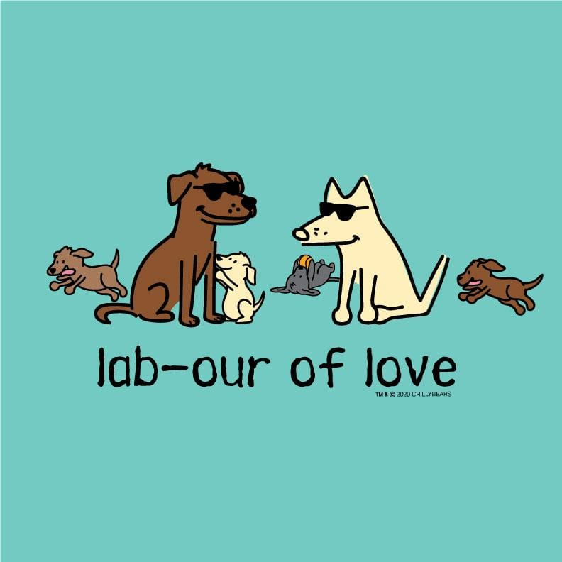 Lab-our Of Love - Ladies T-Shirt V-Neck
