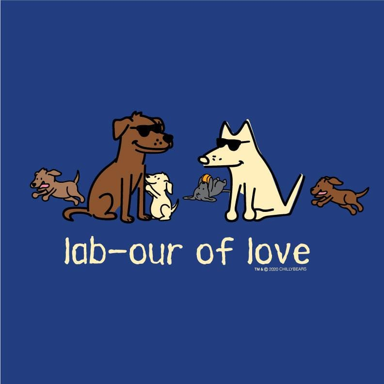 Lab-our Of Love - Ladies Long-Sleeve T-Shirt