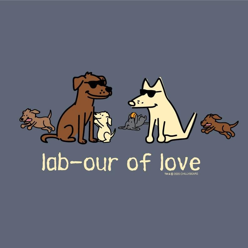Lab-our Of Love  - Classic Long-Sleeve T-Shirt