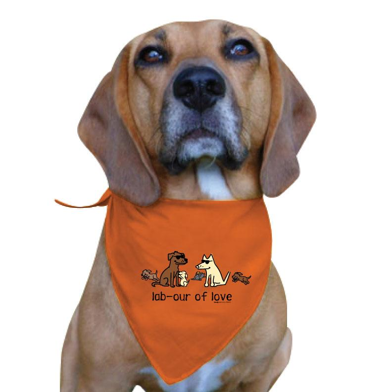 Lab-our Of Love - Doggie Bandana