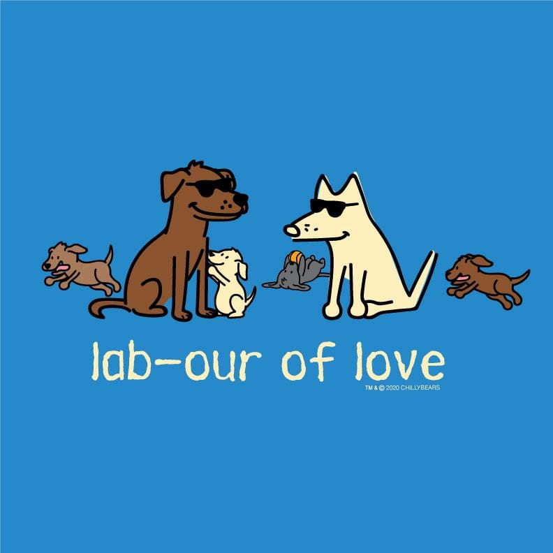 Lab-our Of Love - Canvas Tote