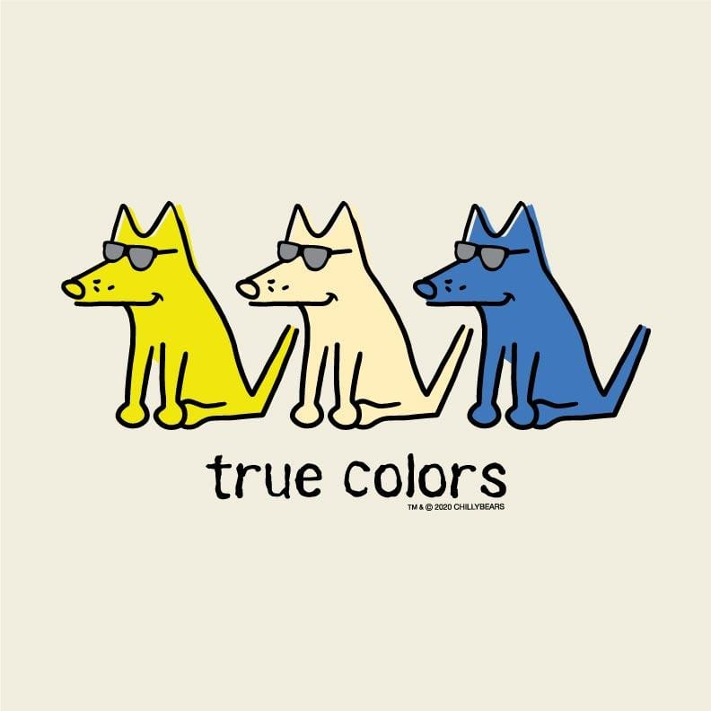 True Colors - Ladies T-Shirt V-Neck
