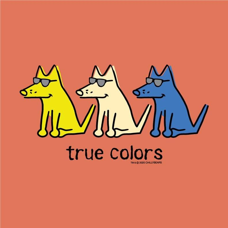 True Colors - Ladies T-Shirt Crew Neck
