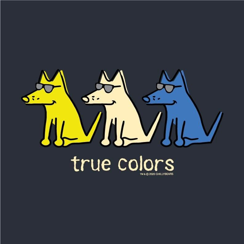 True Colors - Ladies Long-Sleeve T-Shirt