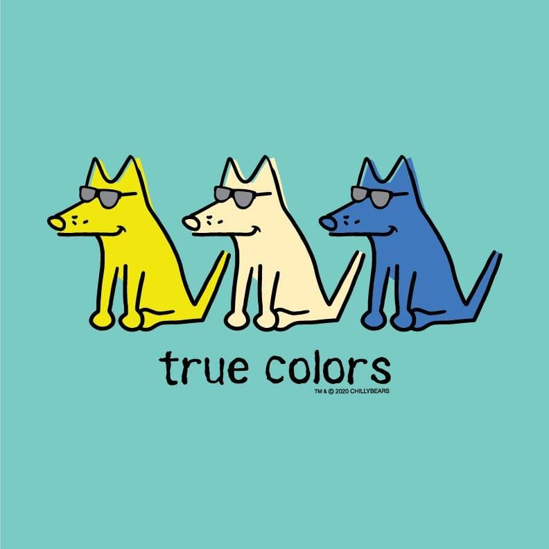 True Colors - Ladies Curvy V-Neck Tee