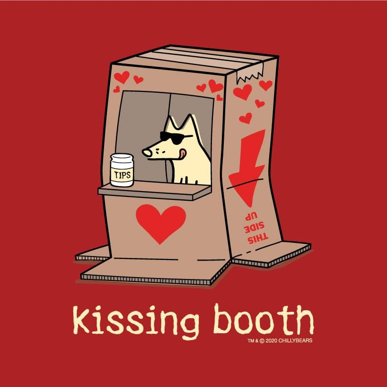 Kissing Booth - Ladies T-Shirt Crew Neck