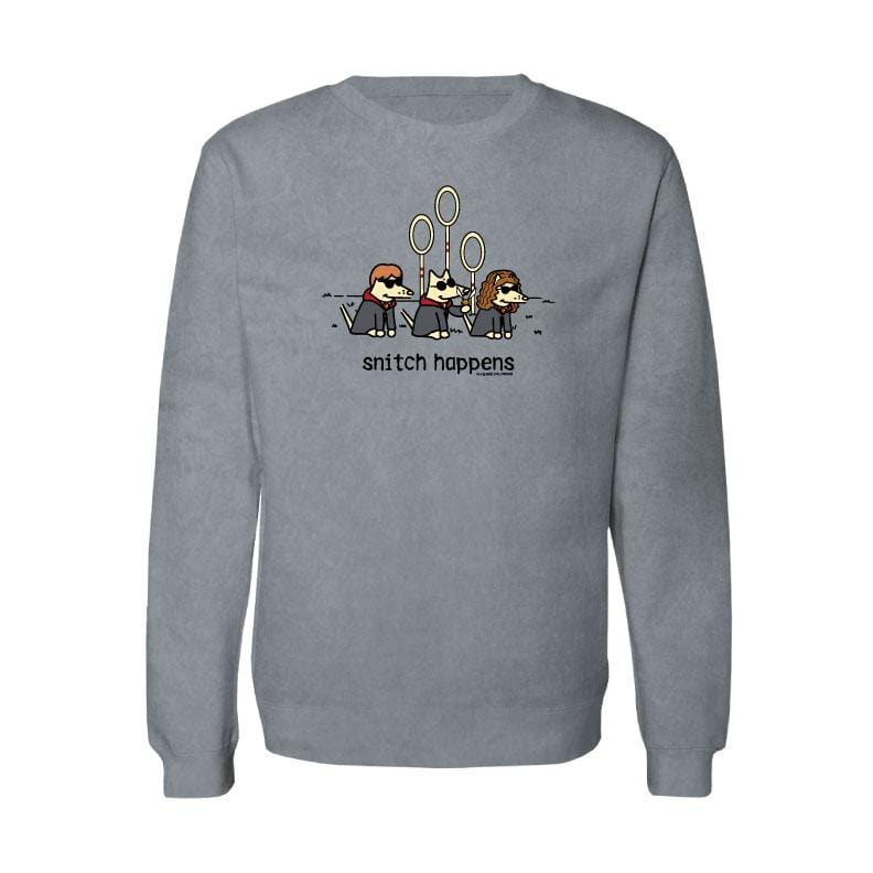 Snitch Happens - Crew Neck Sweatshirt